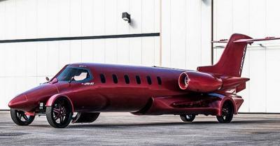 Bakal Dilelang, Intip Limousine Berwujud Pesawat Jet