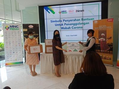 Pandemi Corona, Sasa-MNC Peduli Segera Salurkan Bantuan Sembako dan Bumbu Masak