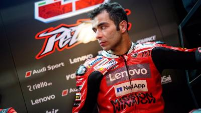 Petrucci Tak Terganggu dengan Rencana Ducati Datangkan Pembalap Muda