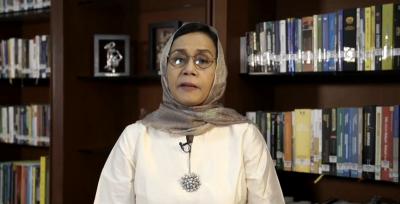 Lebaran Online Ala Menteri Ekonomi, Sri Mulyani hingga Menko Airlangga