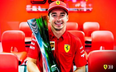 Vettel Pergi, Leclerc: Saya Belum Jadi Pembalap Nomor Satu di Ferrari