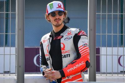 Pramac Ducati Pertahankan Bagnaia untuk MotoGP 2021