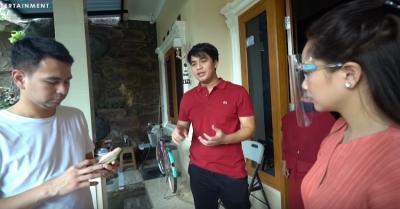 Kunjungi Keluarga Olga, Raffi Ahmad Bagikan THR Rp20 Juta