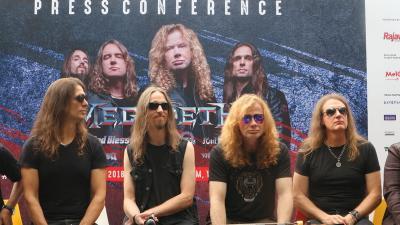 Hadapi Pandemi, Megadeth hingga Trivium Gelar Festival Musik Virtual