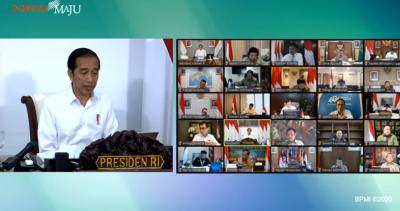 Jokowi: Fokus Tangani Covid-19, tapi Agenda Strategis Tak Boleh Dilupakan
