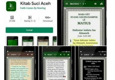 Kemunculan Aplikasi 'Kitab Suci Aceh' Dilaporkan ke Bareskrim Polri