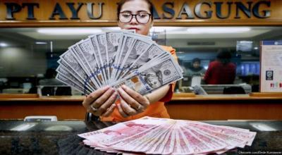 Terus Menguat, Rupiah Ditutup di Level Rp13.877 USD