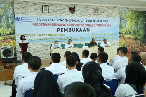 Ratusan Orang Ikuti Pelatihan Berbasis Kompetensi di BBPLK Bekasi