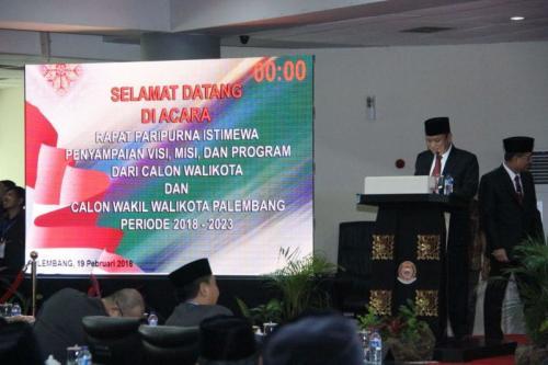 Sarimuda-Rozak Bakal Naikkan Gaji Honor di Palembang Rp2,4 Juta Sebulan