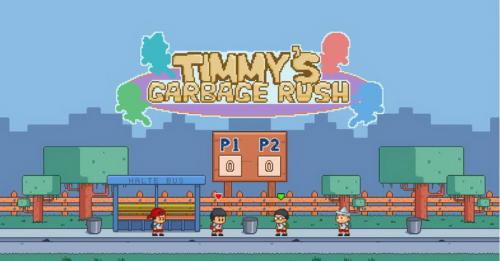 Game Timmy's Garbage Rush Ajari Anak Buang Sampah pada Tempatnya