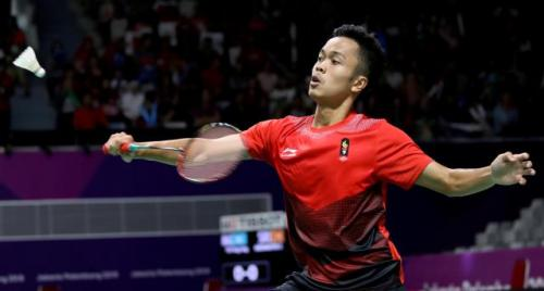 Chen Long Puji Penampilan Ginting di China Open 2018