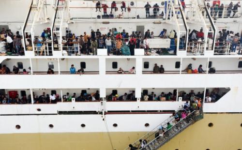 Arus Balik Pelni Fokus Di Pelabuhan Surabaya Hingga Belawan